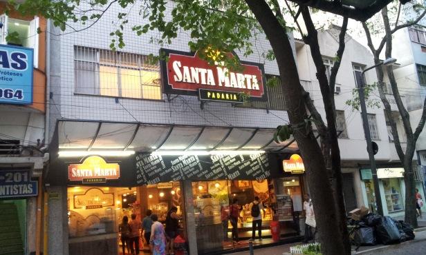 Padaria Santa Marta (conhecida como Padaria da Praça) (Foto: Rafael Junqueira/Mundo Pauta)