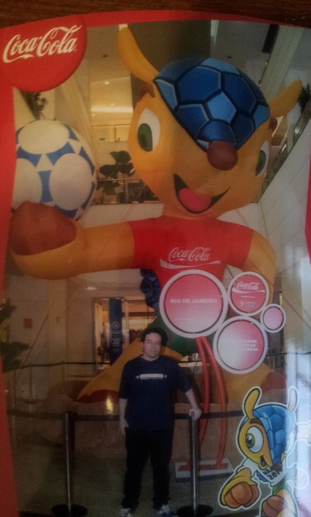 Eu (Foto: Evento Mascote Copa)