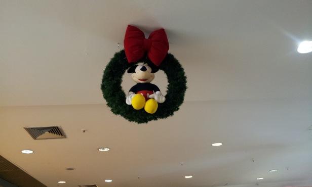 Mickey - Decoração de Natal (Foto: Rafael Junqueira/Mundo Pauta)
