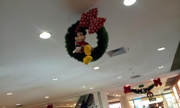Minnie - Decoração de Natal (Foto: Rafael Junqueira/Mundo Pauta)