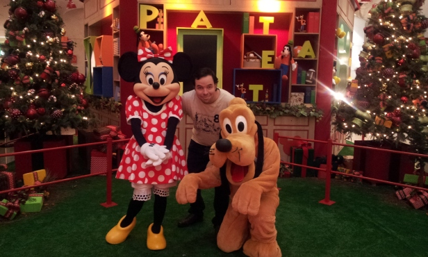 Disney e Mundo Pauta (Foto: Shopping Tijuca/Mundo Pauta)