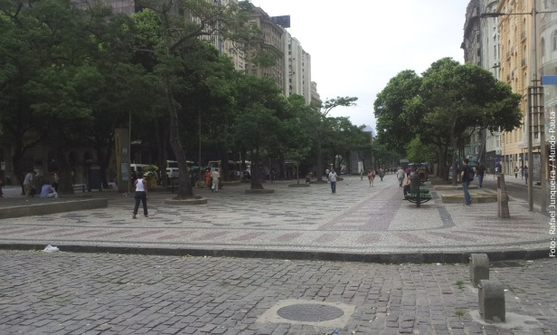 Praça Marechal Floriano - Cinelândia (Foto: Rafael Junqueira / Mundo Pauta)