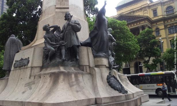 Monumento simbólico da República (Foto: Rafael Junqueira / Mundo Pauta)