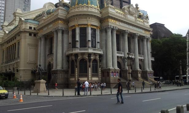 Theatro Municipal do Rio de Janeiro (Foto: Rafael Junqueira / Mundo Pauta)