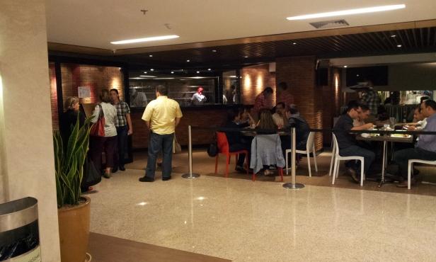 Entrada Restaurante Galli (Foto: Rafael Junqueira/Mundo Pauta)