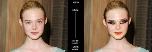 Makeup digital Hunger Games (Foto: Rafael Junqueira/ Mundo Pauta)