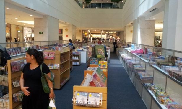 Feira do livro - Shopping Tijuca (Foto: Rafael Junqueira/Mundo Pauta)