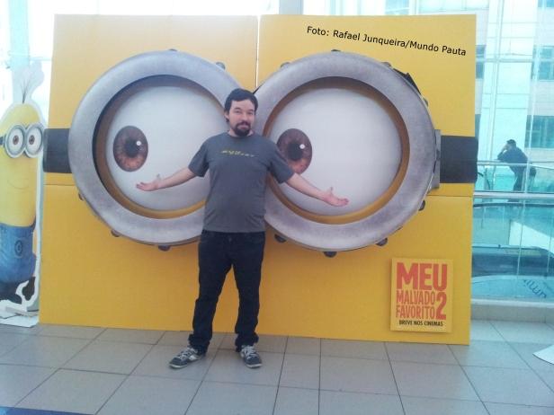 Meu malvado favorito 2 - Kinoplex (Foto: Rafael Junqueira/Mundo Pauta)