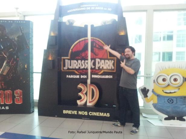 Jurassic Park 3D - Kinoplex (Foto: Rafael Junqueira/Mundo Pauta)