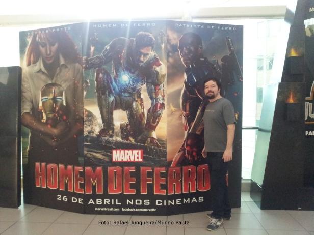Homem de ferro 3 - Kinoplex (Foto:Rafael Junqueira/Mundo Pauta)