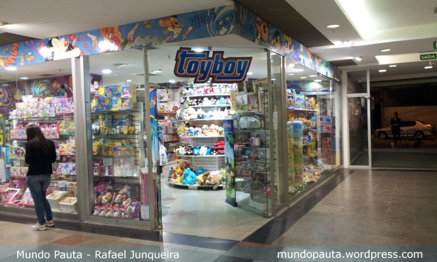 Toyboy - Shopping Tijuca (Foto: Rafael Junqueira/ Mundo Pauta)