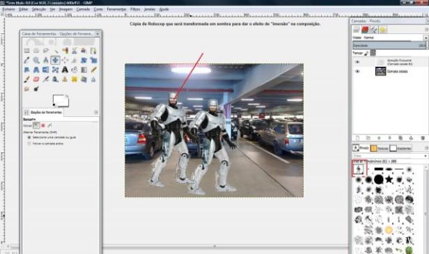 Composite Scene - Robocop (Foto: Mundo Pauta)