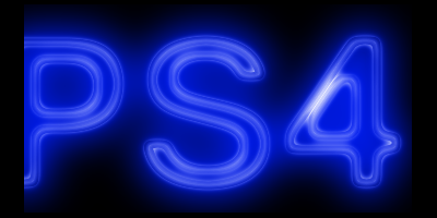 Resultado Final do efeito Neon no Gimp (Imagem: Mundo Pauta)
