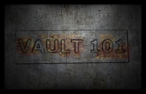 Texto encravado - Fallout Vault 101 (Imagem: Mundo Pauta)
