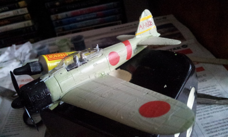 Avião de combate Mitsubishi A6m2b modelo 21 'Zero' de 1941 (Foto: Rafael Junqueira / Mundo Pauta)