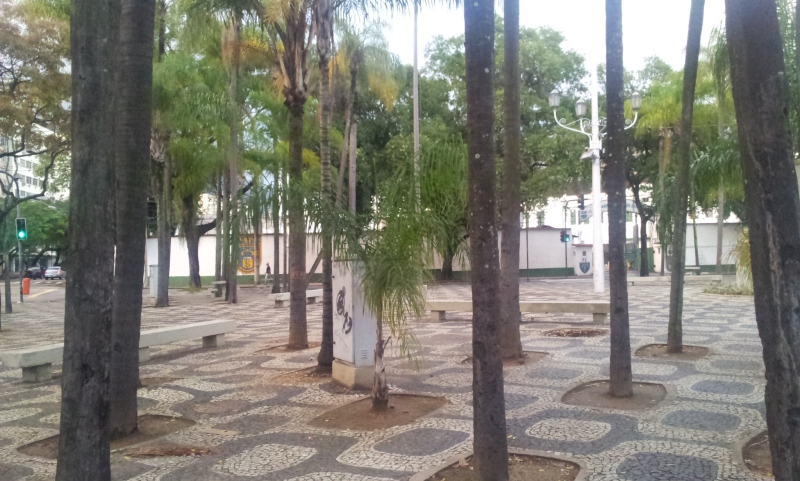Praça Lamartine Babo - Tijuca (Foto: Rafael Junqueira/ Mundo Pauta)