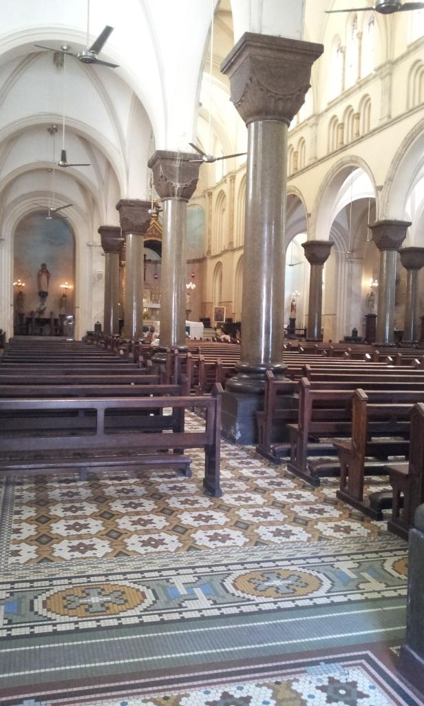 Interno da Igreja Santo Afonso - Tijuca (Foto: Rafael Junqueira/ Mundo Pauta)