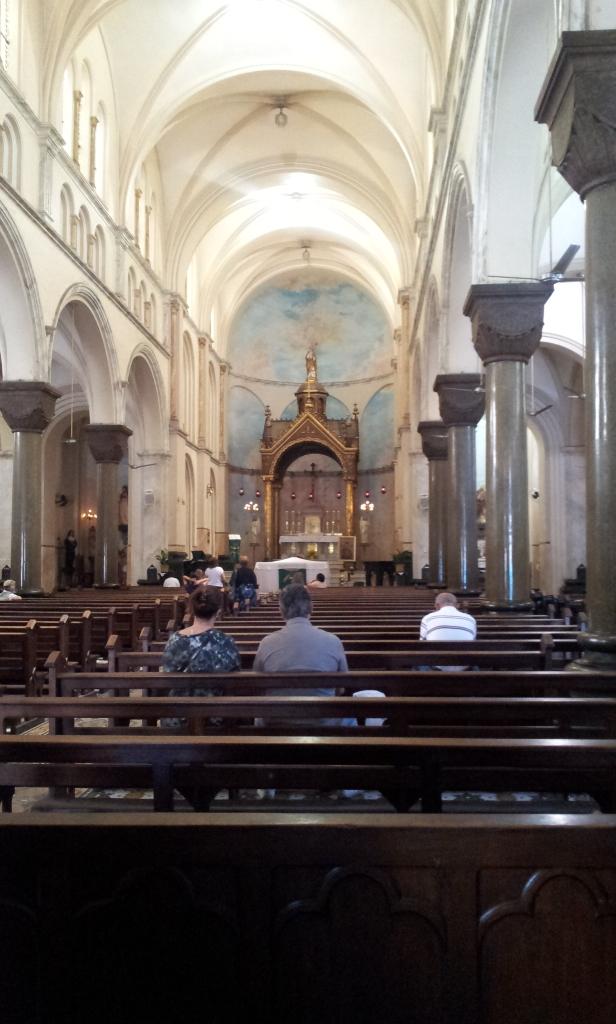Interior da Igreja Santo Afonso - Tijuca (Foto: Rafael Junqueira / Mundo Pauta)