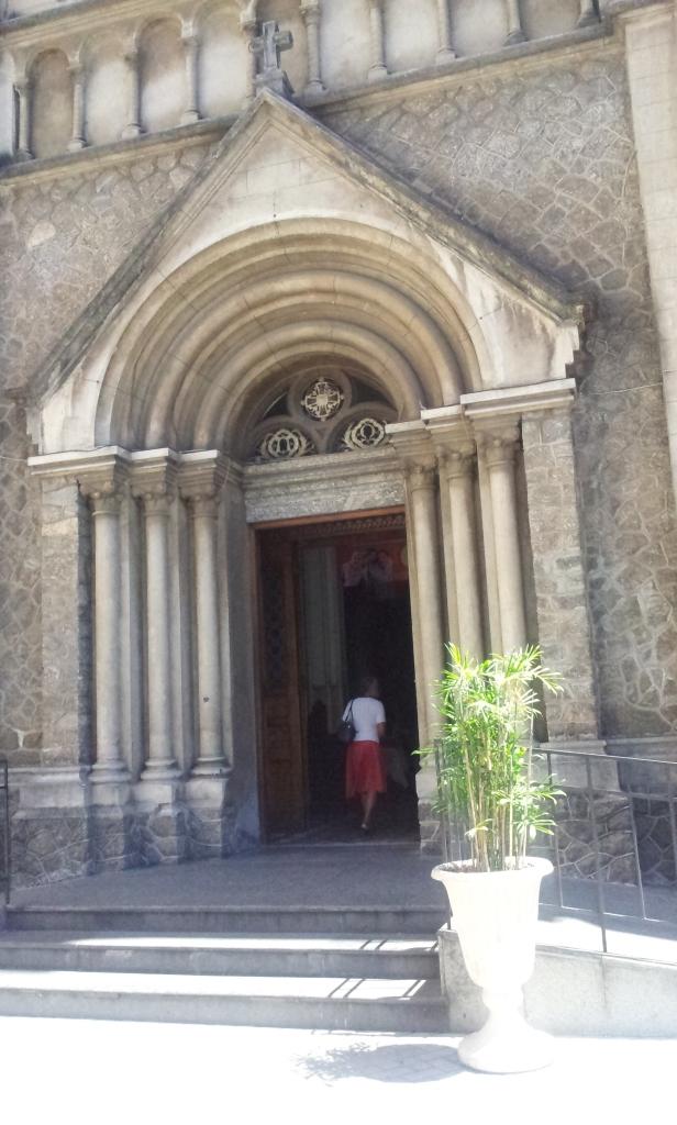 Porta principal da Igreja Santo Afonso - Tijuca (Foto: Rafael Junqueira/ Mundo Pauta)