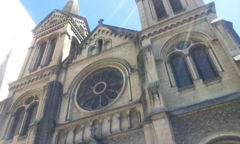 Fachada frontal da Igreja Santo Afonso - Tijuca (Foto: Rafael Junqueira/ Mundo Pauta)