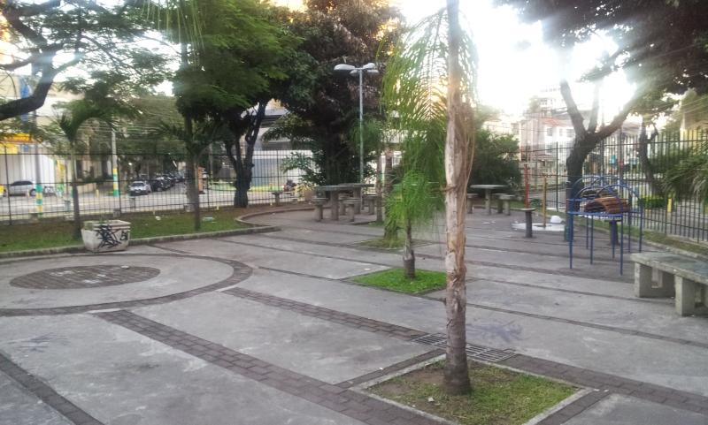 Praça Luis La Saigne - Tijuca (Foto: Rafael Junqueira/ Mundo Pauta)
