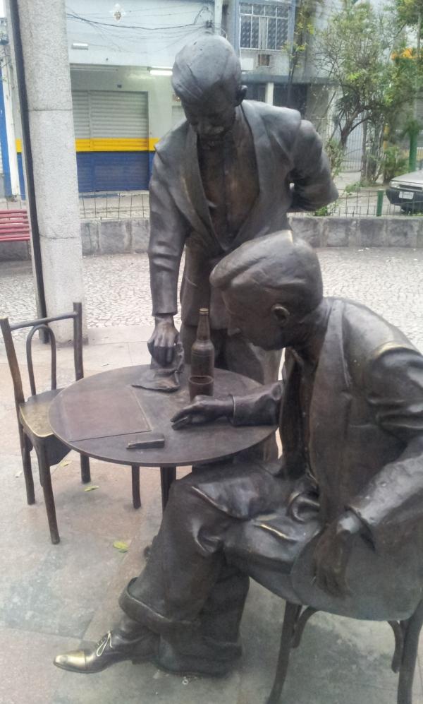 Monumento Noel Rosa - Maracanã (Foto: Rafael Junqueira / Mundo Pauta)