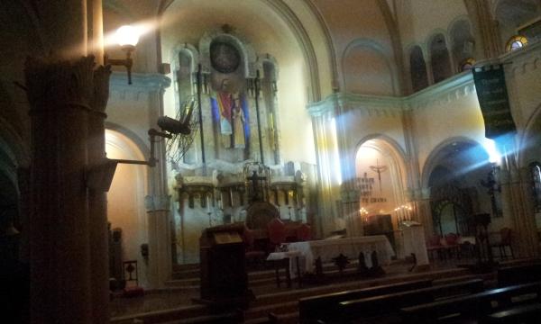 Alta - Igreja Matriz Sagrados Corações - Tijuca (Foto: Rafael Junqueira / Mundo Pauta)