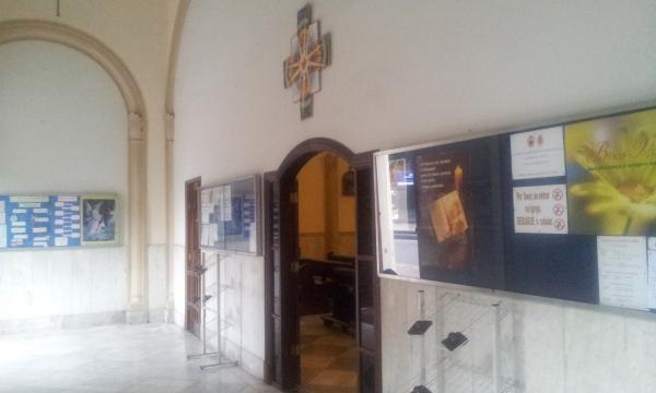 Átrio principal da Igreja Matriz Sagrado Corações - Tijuca (Foto: Rafael Junqueira / Mundo Pauta)