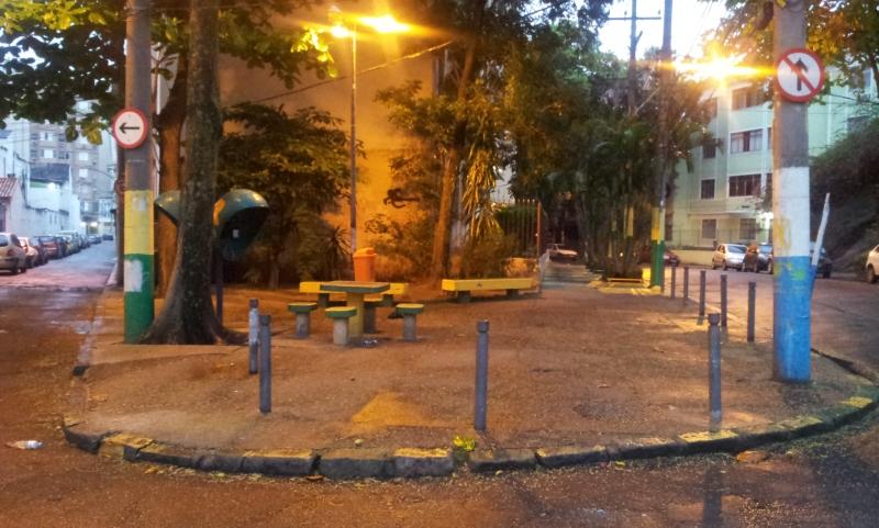 Praça Hilda - Tijuca (Foto: Rafael Junqueira/Mundo Pauta)