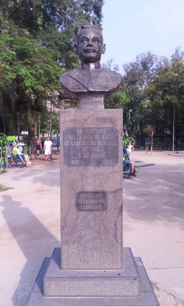 Busto Xavier de Brito (Foto: Rafael Junqueira / Mundo Pauta)