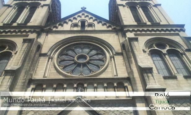 Fachada principal e fronta da Igreja Santo Afonso (Foto: Rafael Junqueira /Mundo Pauta)