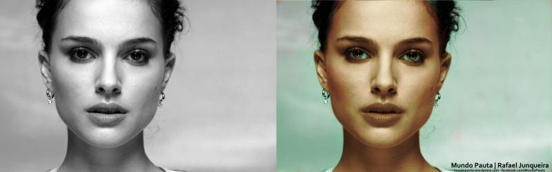 Antes e Depois Natalie Portman (Versão 2015)