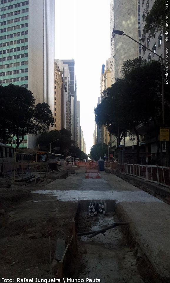 Avenida Rio Branco sentido Av. Presidente Vargas (Foto: Rafael Junqueira \ Mundo Pauta)