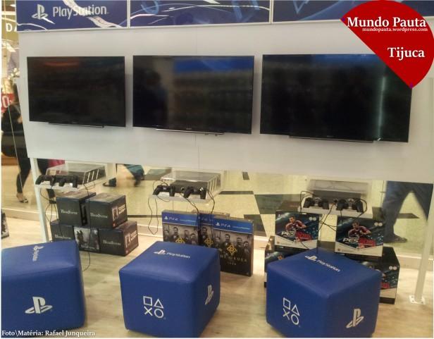 Estações de Playstation (Foto\Matéria: Rafael Junqueira \ Mundo Pauta)